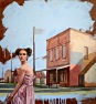 """Downtown Girl""_Oil & Acrylic_22""x24"""