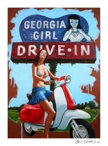 Georgia Girl-12x16 print