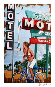 """Starlite Beach"" 12x19"" print"