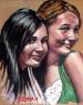 """""""Flirts"""", Oil on Canvas Panel, 11″x14″"""