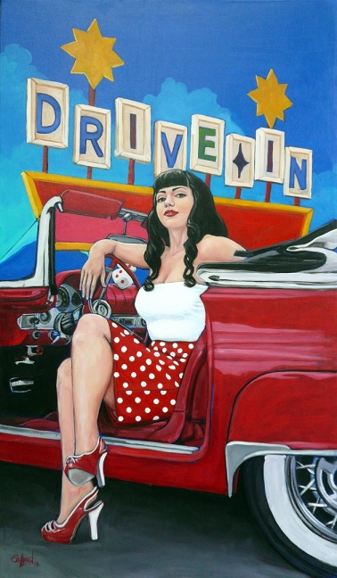 Polka Dot Drive In