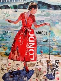 """""""Promenade"""", 18x14"""", Sold"""